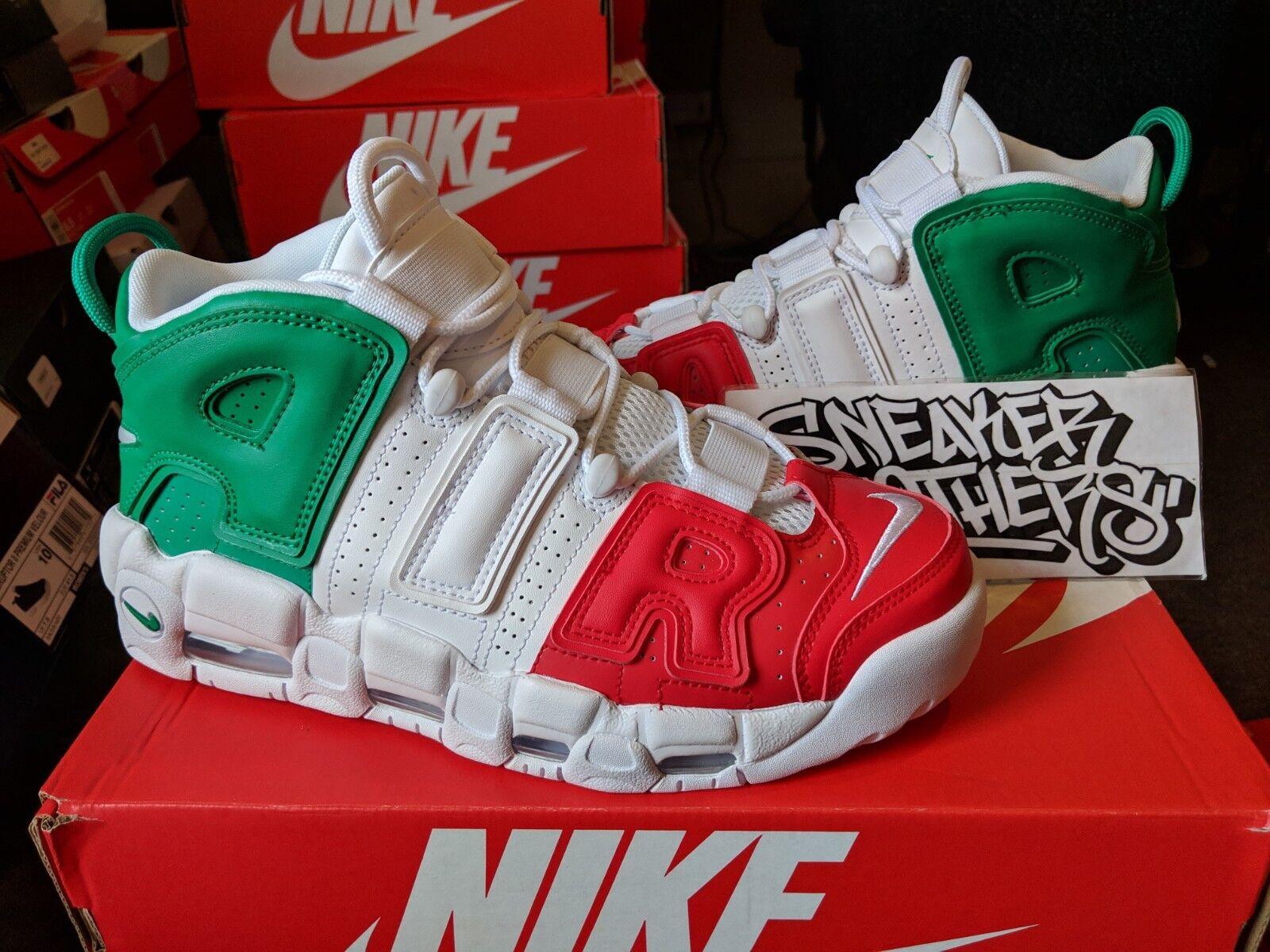 Nike Air More Uptempo '96 QS Euro City  Milan Green Red Pippen AV3811-600