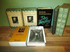 8 Bücher Fjodor M. Dostojewskij Schuld und Sühne Die Dämonen