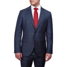 Hackett London Italian Birdseye Super 120s Wool Blazers / Jacket Blue Size 42L