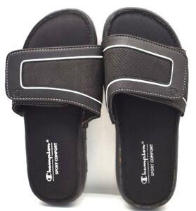 f6f078cf6f0 Champion Sport Comfort Slides 13988-44 Black US Sz 12 FREE SHIPPING ...