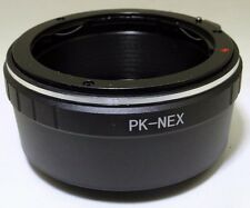 Pentax Lens adapter PK M KR A mount to Sony Camera NEX 5T N ILCE a6000 a6300