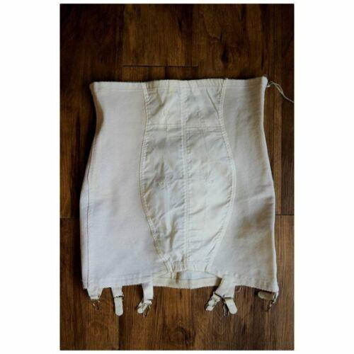 VTG Venus Envy Garter Girdle Skirt sz 32