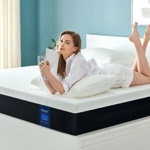 14 Inch Queen Size Memory Foam Mattress More Breathable ...