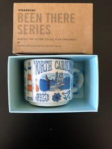 Starbucks Been There North Carolina Mug Ornament Brand New In Box, Collectible