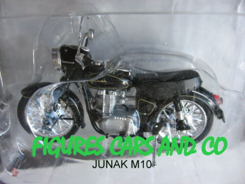 MOTO  1//24 COLLECTION EUROPE DE L/'EST JUNAK TOURIST M10 POLOGNE 1956-65