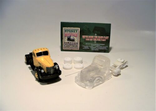 SMC-672 1947 International KB-12 Semi Tractor  HO-1//87th Scale Clear Resin Kit