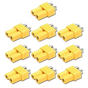10-Stueck-XT30-Stecker-Buchse-Connector-Weiblich-Female-Goldstecker-Lipo-Akku-30A