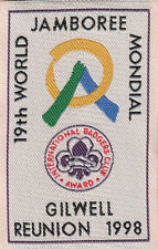 Boy Scout Badge 19 WORLD JAMBOREE 1998  Gilwell Reunion