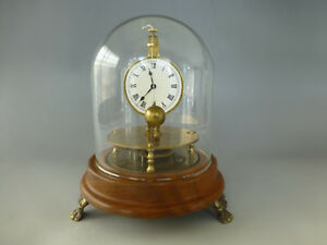 Details about Vintage German Briggs Rotary Flying Ball Pendulum Clock Rare  ( Watch The Video )
