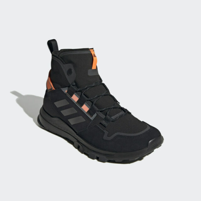Adidas Terrex Hikster Mid Hiking Shoes Boots Men's Size 8.5 New Black