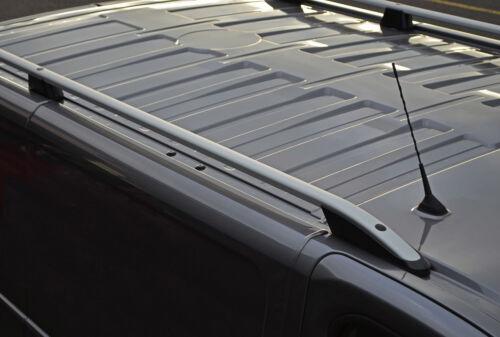 Aluminium Roof Rack Rails Side Bars Set To Fit LWB Nissan NV300 2016+