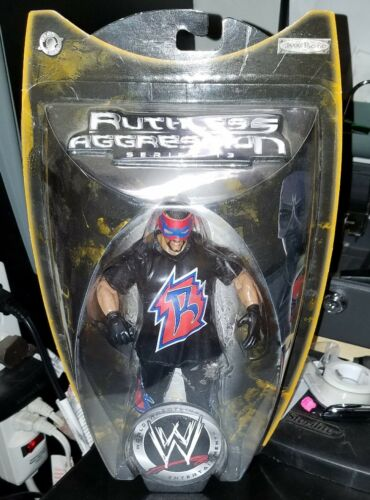 WWE WWF RUTHLESS AGGRESSION  ROSEY WRESTLING ACTION FIGURE SUPERHERO