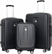 Set Of 3 Luggage Travel Tsa Lock Trolley 360 Spinner Wheel Suitcase 202428
