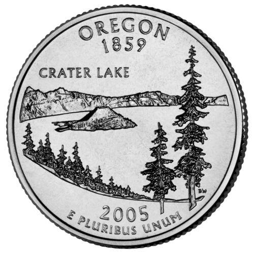 2005 OR Oregon P/&D Quarters BU Free Shipping