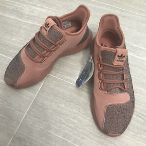 best website 4cb16 72350 Details about Adidas Originals Tubular Shadow Running Shoes Raw Pink BY9740  Womens Size 7.5