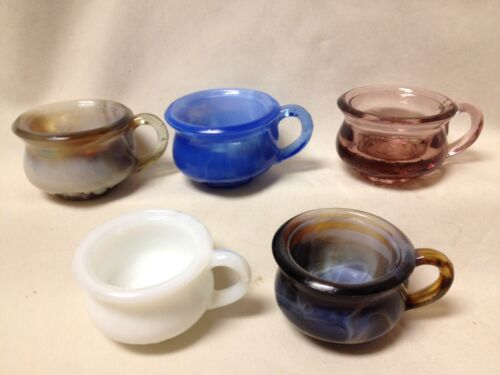 PRICE REDUCED! Degenhart Potty Salt Dip-Marked with D in Heart-Choice of Colors