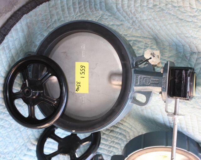 """EBRO ARMATUREN 12"""" 300mm 2011A DN300 Butterfly valve CF8M NEW"""
