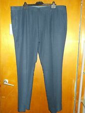 """M&S Modern Tailored Fit Trousers W 42"""" L 33"""" Navy BNWT"""