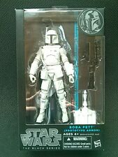 STAR WARS BLACK SERIES 6 INCH BOBA FETT  PROTOTYPE WHITE ARMOR FIGURE AUTHENTIC!