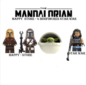 4-Pcs-Minifigures-Baby-Yoda-figure-The-Mandalorian-Star-Wars-Lego-MOC-2020