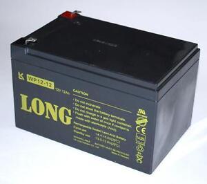 Long Blei Gel-akku 12v 12ah Vds-zul Wp12-12 Usv Ups 4,8 Auswahlmaterialien Akkus & Batterien Elektromaterial
