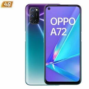 """OPPO A72 128GB+4GB RAM 6,5"""" SMARTPHONE TELÉFONO MÓVIL LIBRE AURORA PURPLE 4G"""