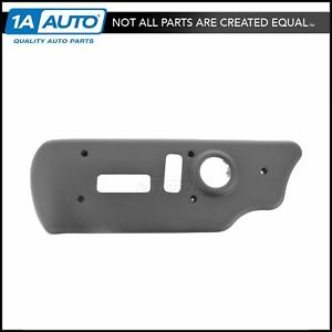 oem 88941680 power seat switch bezel front driver side charcoal for