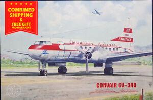 Roden-334-1-144-Convair-CV-340-Hawaiian-Airlines-aircraft-kit