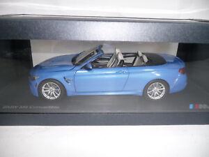 BMW-m4-f83-Cabriolet-YAS-MARINA-BLUE-1-18-PARAGON-DEALER-VERY-RARE