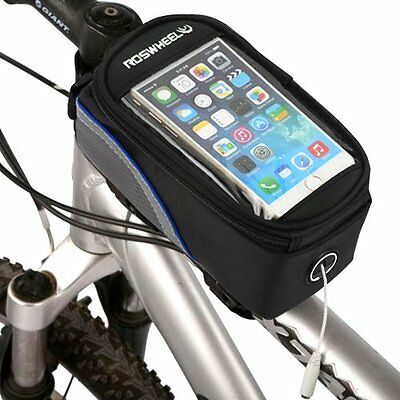 """New Cycling Bike Bicycle Frame Front Tube Bag Pouch Case for iPhone 6 Plus 5.5"""""""