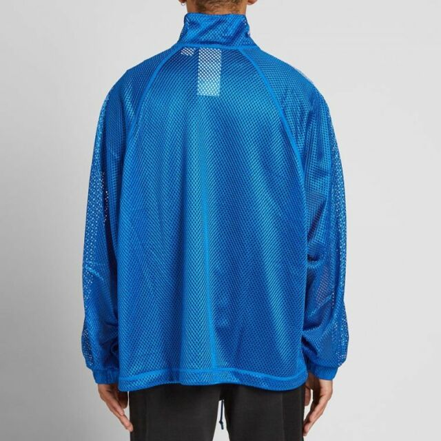 Adidas Originals By Alexander Wang Blue Mesh Track Jacket S NEW SOLD OUT