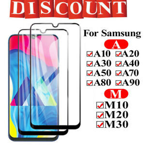 For-Samsung-Galaxy-A30-A40-A50-M20-Full-Cover-Tempered-Glass-Screen-Protector-2x