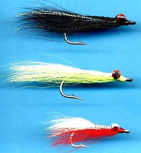 Clouser-Saltwater-Fly-Fishing-Fly-One-Hook-Size-Quantity-amp-Color-Choice