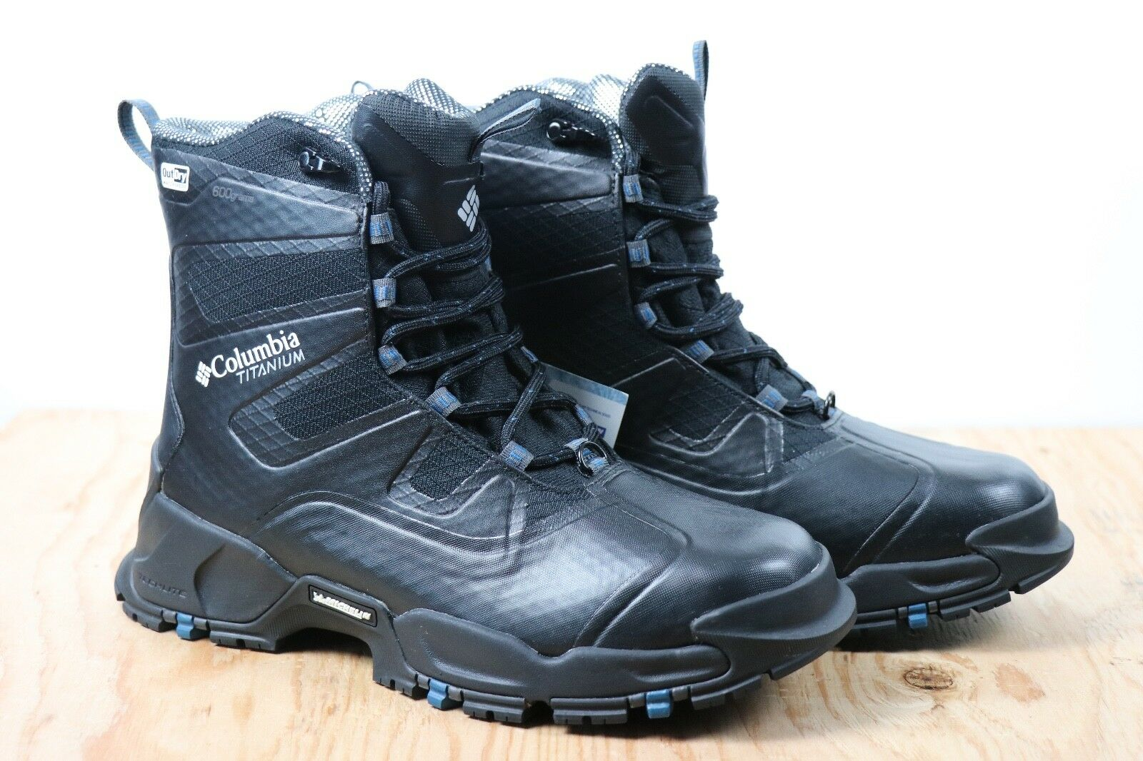Columbia Can Titanium Omni Heat Black OutDry Snow Waterproof Extreme Boot New 7