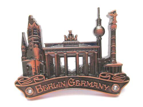 Berlin Metall Magnet Brandenburger Siegessäule Fernsehturm Souvenir