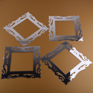 4pcs Mirror Flower Vine Light Surround Switch Sticker ...