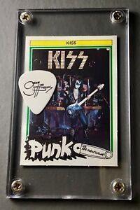 tour guitar pick display! KISS 70/'s Punk Gene Trading Card from Holland