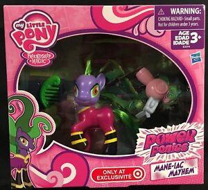 My Little Pony Power Ponies Mane-Iac Mayhem Figure New 2014