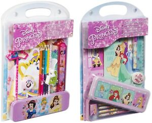 Disney-Princess-Bumper-Stationery-Set-Girls-Character-Back-To-School-Notebook