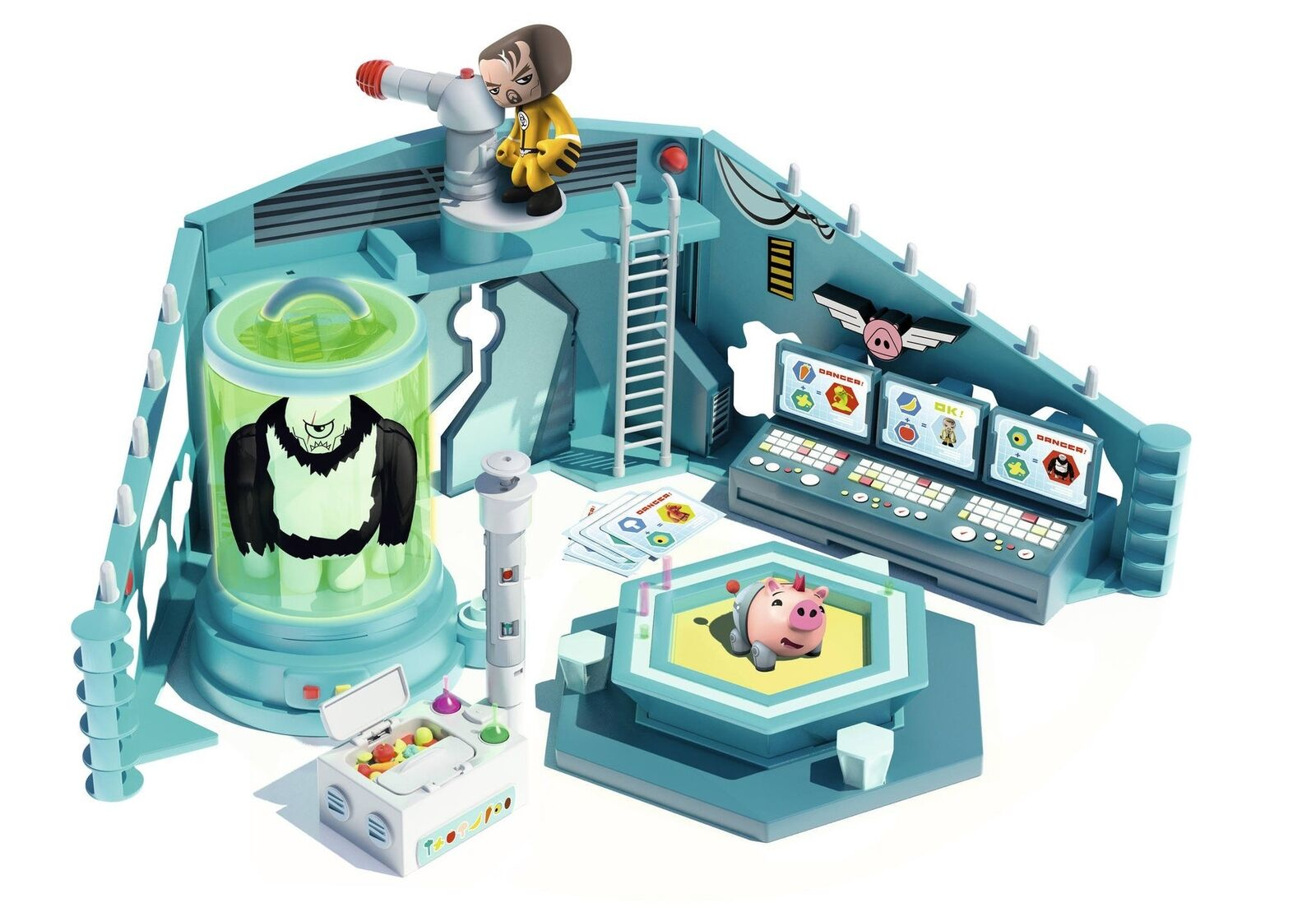 Mutant Busters The Laboratory of Dr. Weiß (Famous 700013648)