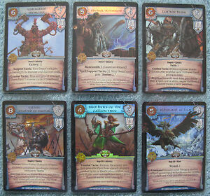 Warcry ccg Path Of Glory Rare Cards