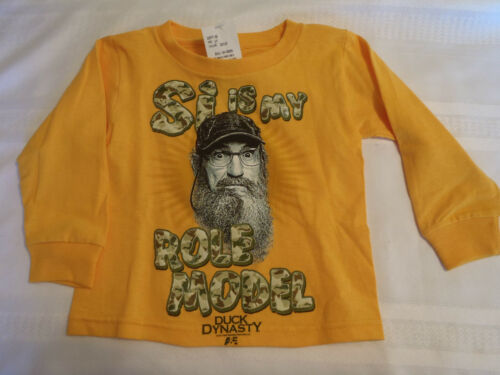 Duck Dynasty 2T 3T 4T or 5T Choice Long Sleeve Family Certified Shirt NWT