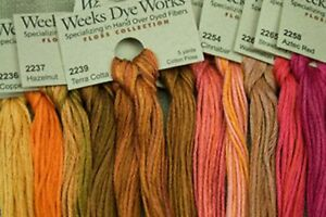 WEEKS-DYE-WORKS-7-SKEINS-U-CHOOSE-COLORS
