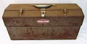 Clever Vintage Sperrung Park Manufacturing Cantilever Gerät Werkzeug Box Angelzubehör PüNktliches Timing Sport