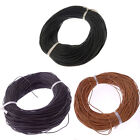 DIY Real Genuine Leather Necklace Charms Rope String Cord  1/1.5/3mm #1