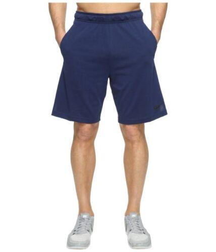 842267-429 Sizes S//M//L//XL//XXL NWT Nike Men/'s Navy//Black Dri-Fit Cotton Shorts