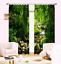 Waterfall-3D-2-Panel-Blockout-Drapes-Fabric-Photo-Printing-Window-Curtains-Mural