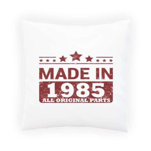 Fabriqué en 1985 Toutes Original Parties Oreiller Housse De Coussin jj81p