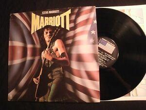 STEVE-MARRIOT-Marriot-1976-Vinyl-12-039-039-Lp-VG-Humble-Pie-Prog-Hard-Rock