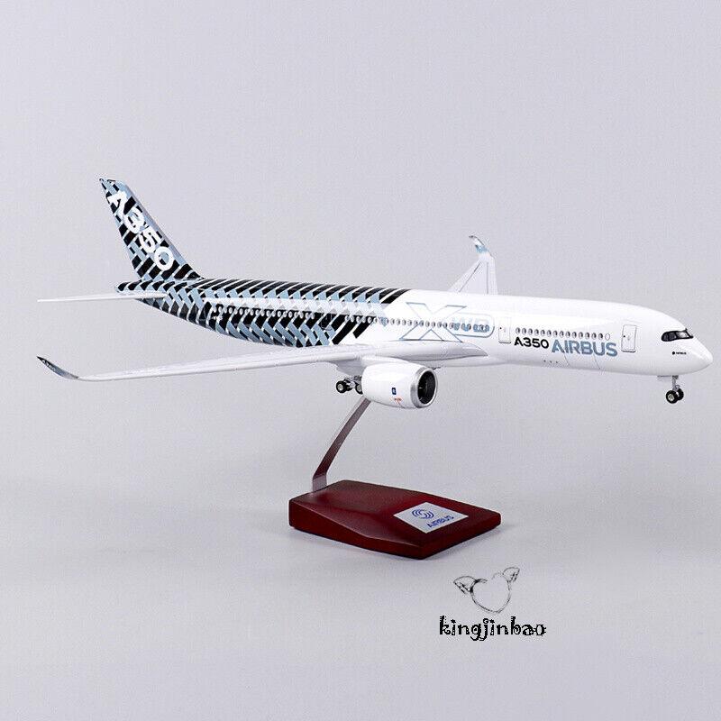 Échelle 1 144 AIRBUS A350 Modèle Avion de ligne assemblées avec roues et lumières